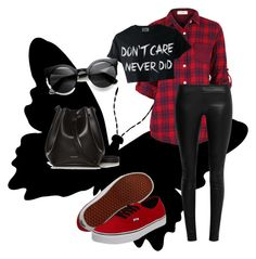 """""""Careless"""" by lexxoxoxo on Polyvore featuring The Row, Vans and Rachael Ruddick"""