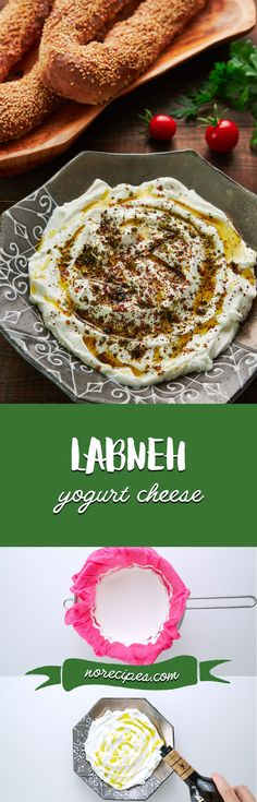 Learn how to make Labneh, an easy fresh cheese made by salting and straining yogurt. It makes for a delicious condiment that's also great as a dip, mixed into sauces, and spread under salads.