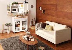 フレンチカントリーなお部屋。 友達を呼んでお茶したい。