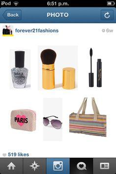 Make up 💇💆💅 forever 21