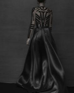 Variations couture par Sarah Moon - Madame Figaro