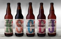 Before & After: Iron Springs Brewery — The Dieline - Package Design Resource