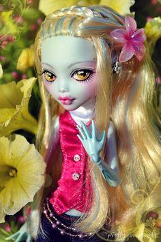 Custom Monster High Lagoona #monsterhigh #custom #lagoona