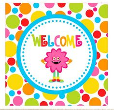 1st Birthday Photoshoot, Monster Party, Party Printables, Bulletin Board, Troll, Welcome, Ideas Para, Minions, Planners