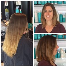 Great new summer style and cut done by our Senior Stylist, Jen B!  #haircut #hairstyle #newdo #summertime #seniorstylist #salonpurect
