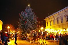 Manistee's Annual Victorian Sleighbell Parade and Old Christmas Weekend