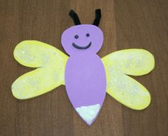 Firefly Craft that Glows - could be fun to make while camping!