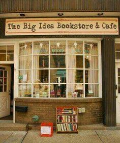 The Big Idea Bookstore & Cafe, Pittsburgh, Pennsylvania I Love Books, My Books, Idea Books, Literary Travel, Beautiful Library, Book Cafe, Home Libraries, Coffee And Books, Book Nooks
