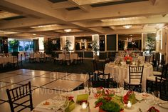 Amber Uplighting We provided for a San Diego Wedding Reception
