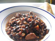 BANKRUPT VEGAN: Southwestern Black Bean Soup