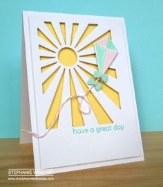 Stamping & Sharing: Have A Great Day