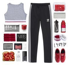 """""""we keep on running"""" by amazing-abby ❤ liked on Polyvore featuring adidas Originals, Lindt, adidas, Pantone, Obsessive Compulsive Cosmetics, Christy, NARS Cosmetics, NIKE, Boohoo and Calvin Klein"""