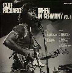 Cliff Richard When In Germany Volumes 1 & 2 Belgian vinyl record set (Double Album) Lp Vinyl, Vinyl Records, Sir Cliff Richard, Mark Knopfler, Rock And Roll, Singing, Germany, Album, Cover