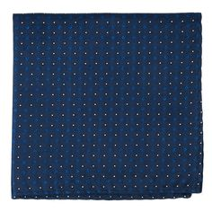 GEO GLOW POCKET SQUARES - NAVY | Ties, Bow Ties, and Pocket Squares | The Tie Bar
