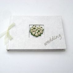 Wedding Guest Book - Rose Heart £19.95