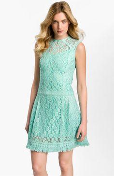Nanette Lepore 'Sunset Blvd' Lace Drop Waist Dress | Nordstrom