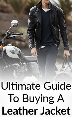 How To Instantly Look Like A Badass In A Leather Jacket?
