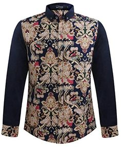 APTRO Men's Plus Size Paisley Printed Splice Long Sleeves Shirt 04 XS ( Tag L ) APTRO http://www.amazon.co.uk/dp/B013FNC9P2/ref=cm_sw_r_pi_dp_S3oywb0BTBSW5