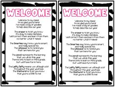 Meet Your Teacher ideas includes freebies (welcome letter, goodie bag w/note, checklist for parents, tent signs)