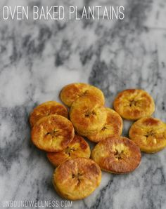 Oven Baked Plantains #paleo/#gf