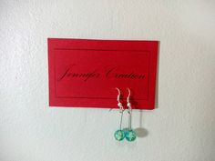 Handmade earrings with a turquoise pearl / par JenniferCreation
