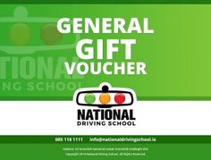Gift Voucher - nationaldrivingschool