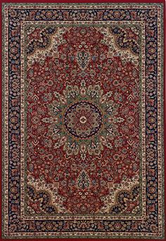Oriental Weavers Ariana 116R Red Traditional Area Rug