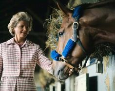 Secretariat and his owner Penny