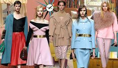 Top Trend Themes, Womens Market, F/W 2014/15, 50s