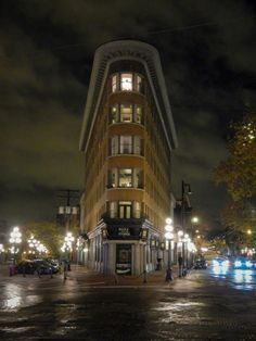 Gastown in Vancouver, BC, Canada