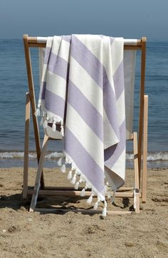 Love a stripe Turkish towel for beach time!