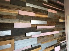 Plank wall for office entrance. Office Entrance, Plank Walls, Texture, Wood, Crafts, Surface Finish, Planked Walls, Manualidades, Woodwind Instrument