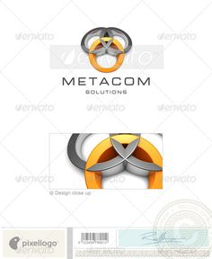 Technology Logo 3D409 — Photoshop PSD #3d logo • Available here → https://graphicriver.net/item/technology-logo-3d409/524621?ref=pxcr