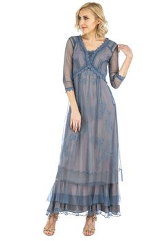 Nataya Audrey CL-407 Azure Gown
