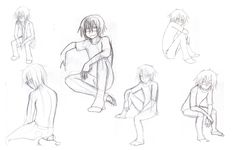 People Drawing Sitting Poses   Drawing Challenge- Sitting by The-EverLasting-Ash on deviantART