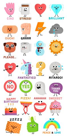 Lineis the most famous messenger app that serves over 10,000 stickers and  emoticons to more than 500 million users. We created this fun sticker pack  based on their request of something funny, weird and familiar.