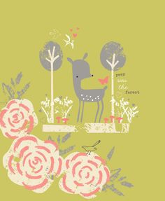 Love the colour in this Lizzie McKay illustration