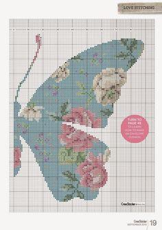 Uauu... Simplesmente Perfeito este Gráfico em Ponto Cruz - Madame Butterfly.  Confira Aqui no Nosso Blog:   Clique na Imagem para Melhor Vi...