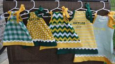 Licensed BAYLOR GIRL Dress by TheBeeInMe on Etsy, $32.95