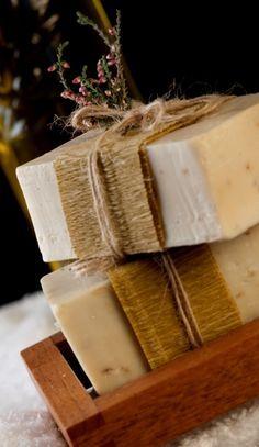 Homemade Rustic Inspired Soap