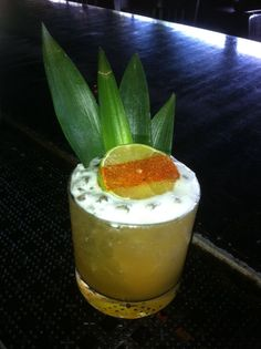 El Hechicero at Anvil- House Tepache, Tequila, Pineapple, Celery Bitters