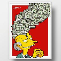 Mr Burns UNZIPPED