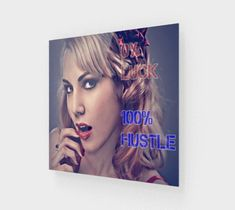 Enhance your home or office with an original 0 Luck 100 Hustle Inspirational acrylic wall art decor. Show your creativity & fashion, shop now, enjoy popular canvas artwork on sale. Canvas Artwork, Canvas Wall Art, Motivational Images, Acrylic Wall Art, Canvas Quotes, Life Images, Hustle, Wall Art Decor, The 100