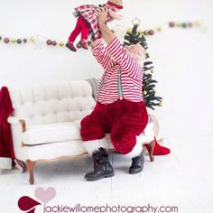 Adorable Santa photo!