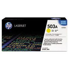 Hp 503a, (q7582a) Yellow Original Laserjet Toner Cartridge