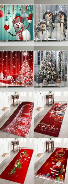 50% OFF Christmas Shower Curtains and Bath Mats,Free Shipping Worldwide. Easy Christmas Ornaments, Christmas Crafts For Gifts, Simple Christmas, All Things Christmas, Christmas Cookies, Christmas Ideas, Christmas 2017, Winter Christmas, Merry Christmas