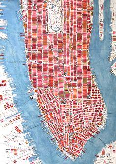 Pomegranate Manhattan-2013 by Barbara Macfarlane