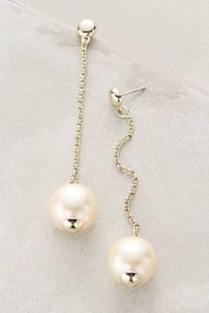 Pearl Pendulum Earrings by Lele Sadoughi