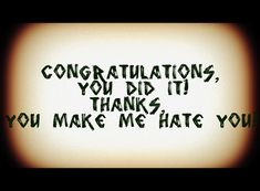 i hate u quotes - Google Search