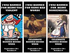 Alice was banned for being nonsensical? I figured the obvious drug references would be the part that upset people LOL